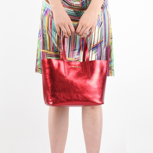 Feather Petit Bag (Red)