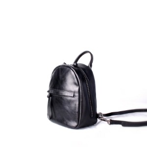 [Rinashua] Egg Backpack (Black)